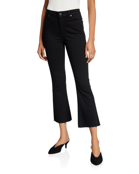 PAIGE Colette Cropped Flare Jeans