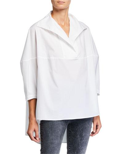 Last Boxy High-Low Shirt
