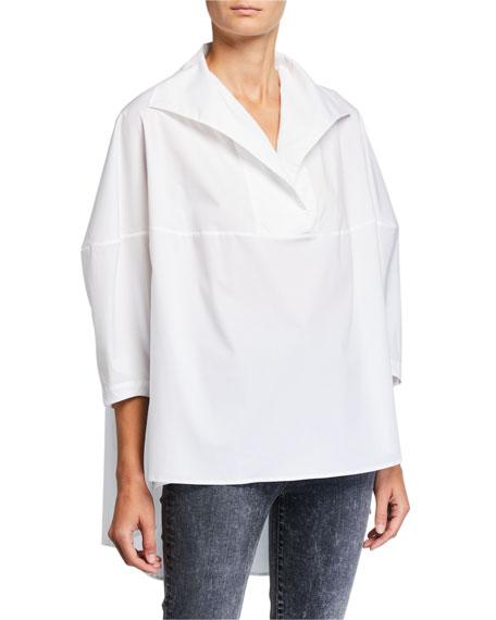 palmer//harding Last Boxy High-Low Shirt