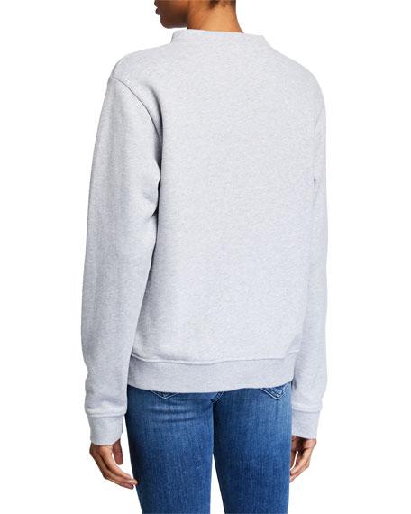 "Kule The Raleigh ""Love"" Graphic Sweatshirt"