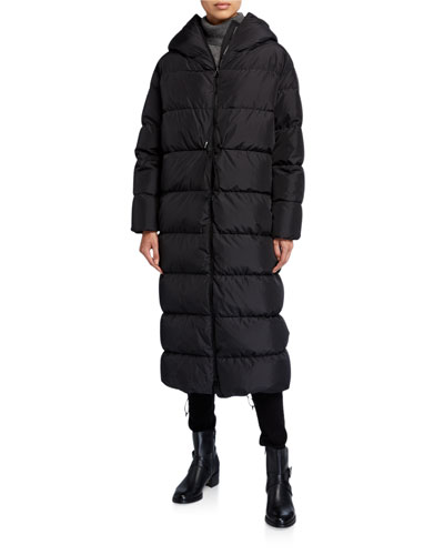 Big Cloud Puffer Midi Coat