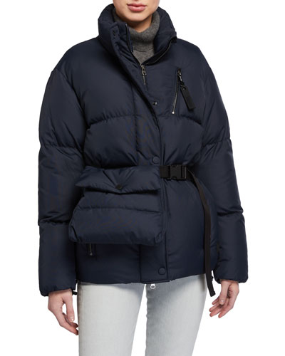 New Boo Down Jacket w/ Fanny Pack