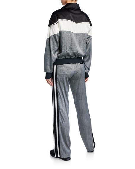Blanc Noir Sportif Reversible Track Jacket