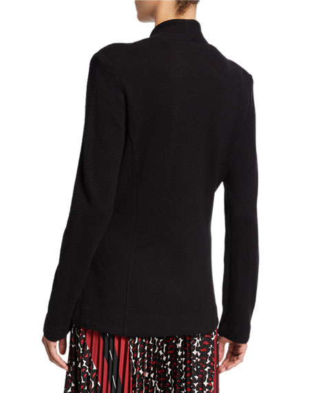 NIC+ZOE Plus Size Sleek Knit Jacket