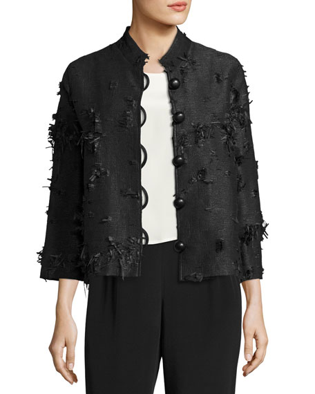 Caroline Rose Plus Size Made in the Shade Jacket, Black