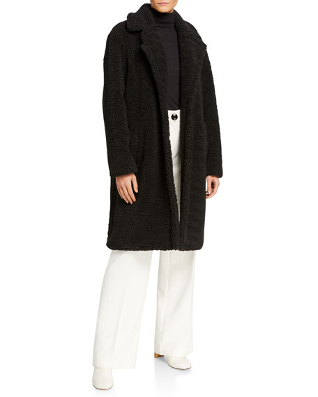 STAND Lisen Faux Fur Long Coat