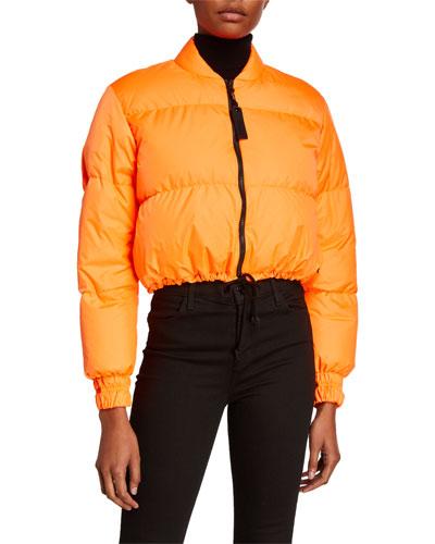Bubble Short Crop Jacket
