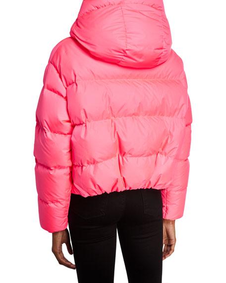 Bacon Cloud Oversized Short Down Jacket