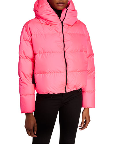Cloud Oversized Short Down Jacket