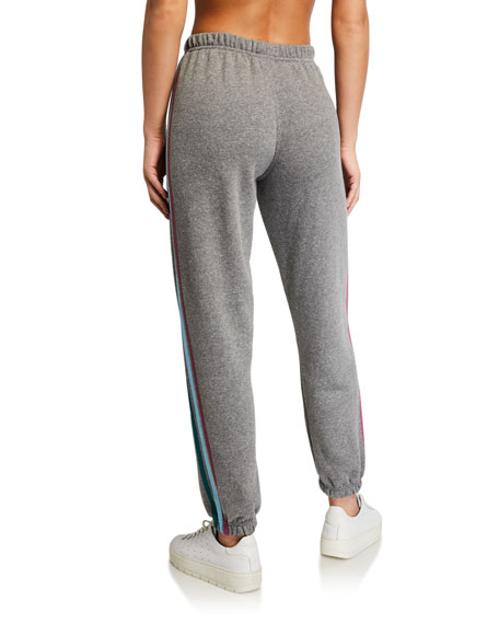 Spiritual Gangster Stripe Sessions Cotton Sweatpants