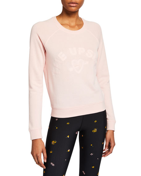 The Upside One Love Bronte Crewneck Sweatshirt