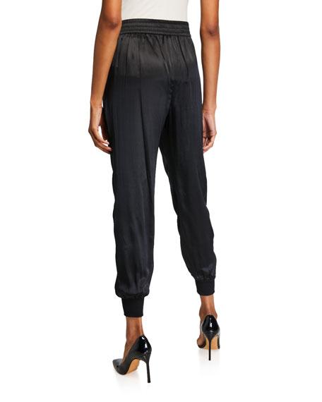 Cami NYC The Sadie Silk Charmeuse Jogger Pants