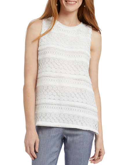 NIC+ZOE Stars At Night Sweater Tank