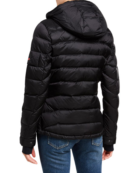 49 Winters Tailored Down Jacket, Black