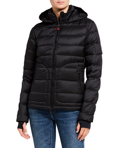 Tailored Down Jacket  Black