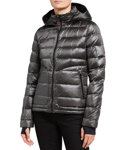 Tailored Down Jacket  Gray