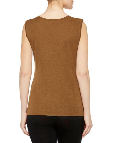 Misook Plus Size Knit Scoop-Neck Tank