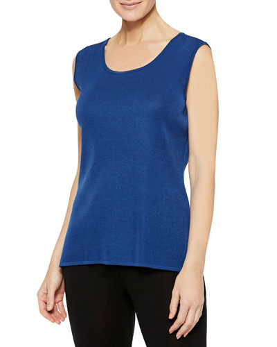 Venetian Scoop-Neck Tank