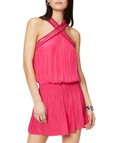 Alara Halter Mini Dress