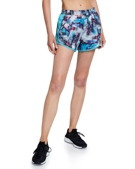 Under Armour Fly By Printed Running Shorts