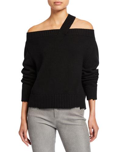 Beckett Off-Shoulder Sweater