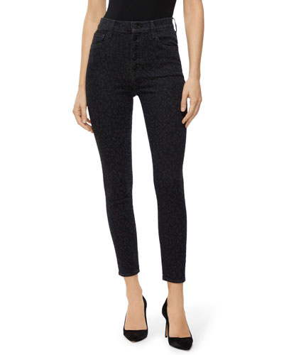 Lillie High-Rise Crop Skinny Jeans