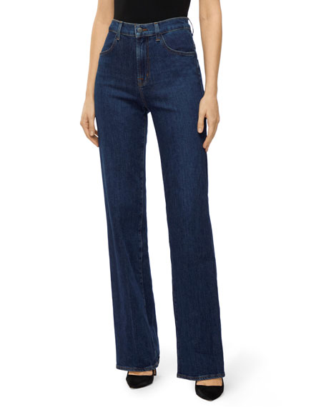 J Brand Joan High Rise Wide Leg Jeans by J Brand