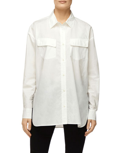 Bryson Oversized Button-Down Shirt