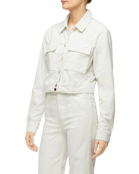 J Brand Ray Cropped Denim Jacket