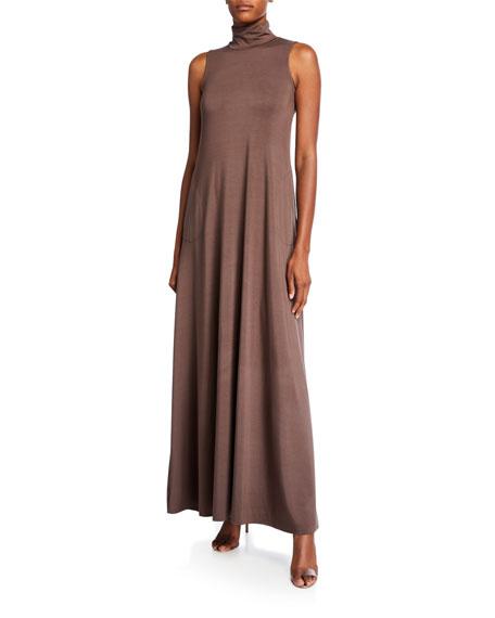 Rachel Pally Plus Size Cait Mock-Neck Sleeveless Long Dress