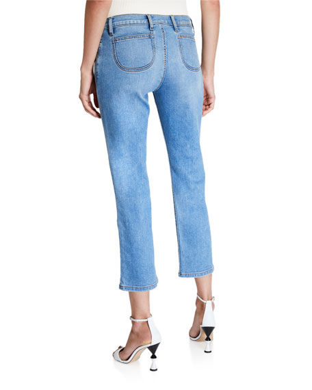 Current/Elliott The Scooped Ruby Cropped Jeans