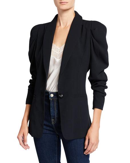 Ramy Brook Albie Puff-Sleeve Jacket