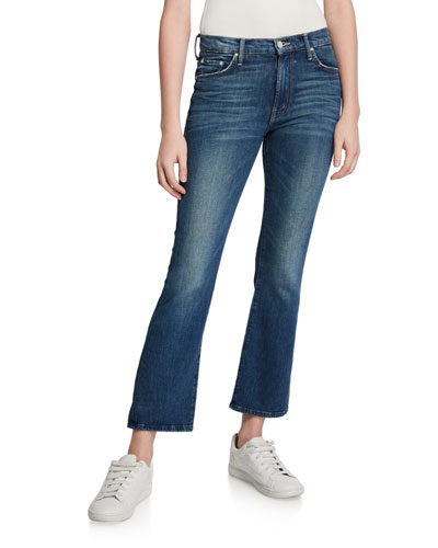 The Tripper Cropped Boot-Cut Jeans