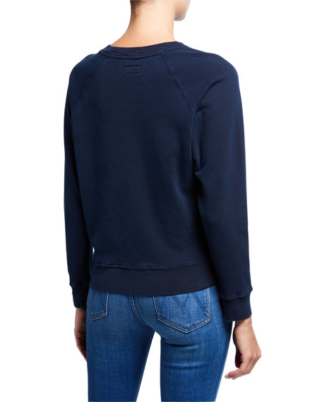 MOTHER The Square Graphic Sweatshirt