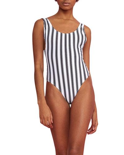 Boca Striped One-Piece Swimsuit