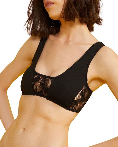 Cynthia Rowley Lana Lace Bikini Top