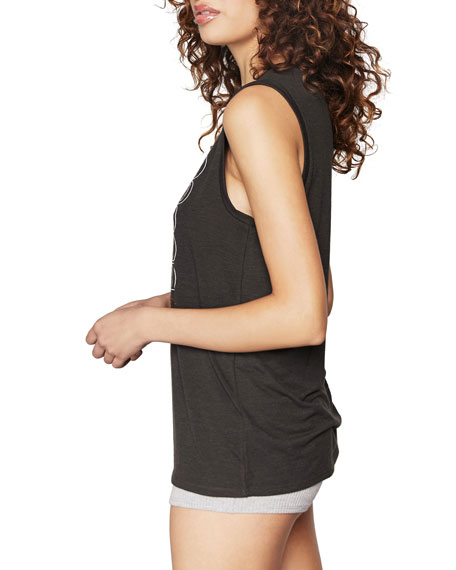 Spiritual Gangster All One Graphic Crop Tank