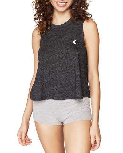 All One Graphic Crop Tank