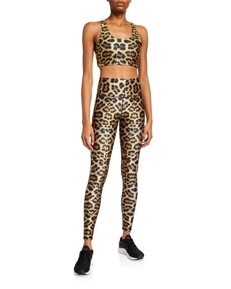 Terez Leopard High-Rise Leggings
