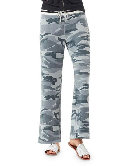Splendid Soft Camo Sweatpants