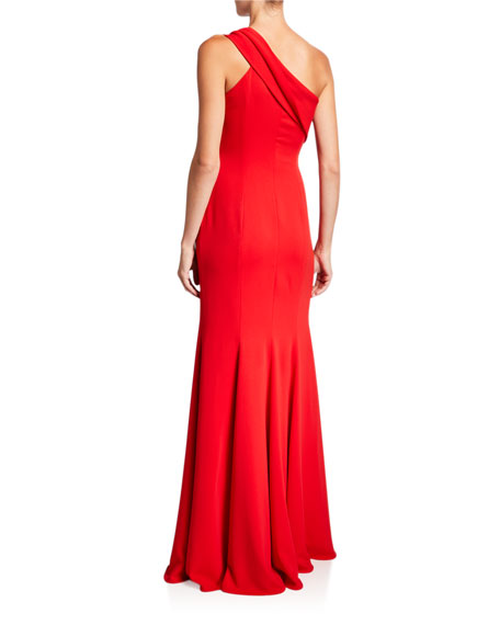 Image 2 of 2: Jay Godfrey Stone One-Shoulder Column Gown