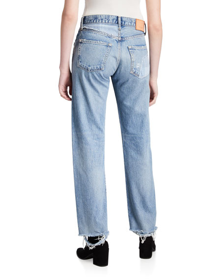 Image 2 of 3: MOUSSY VINTAGE Norwalk Straight-Leg Jeans