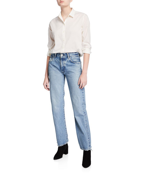 Image 3 of 3: MOUSSY VINTAGE Norwalk Straight-Leg Jeans