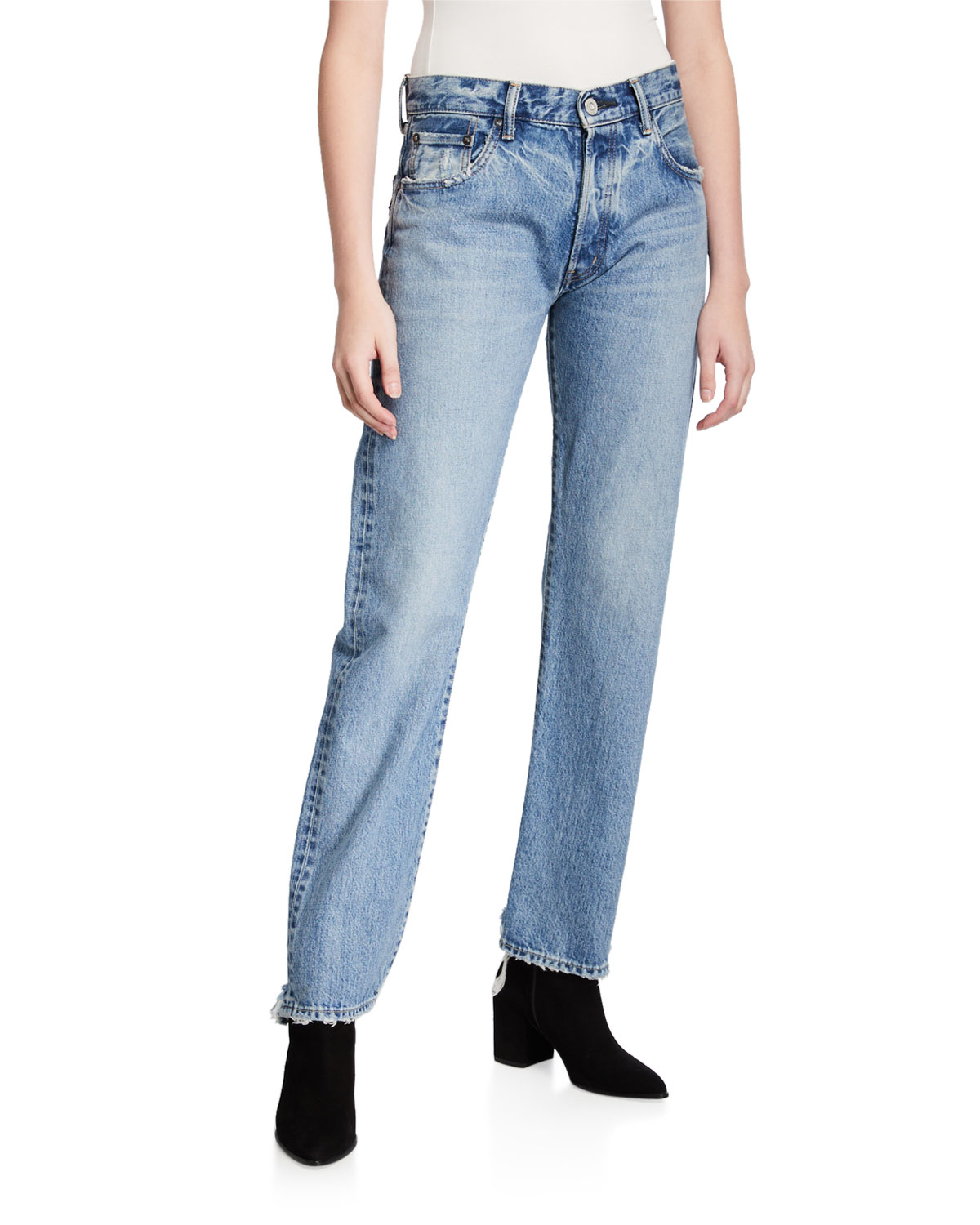 MOUSSY VINTAGE Norwalk Straight-Leg Jeans