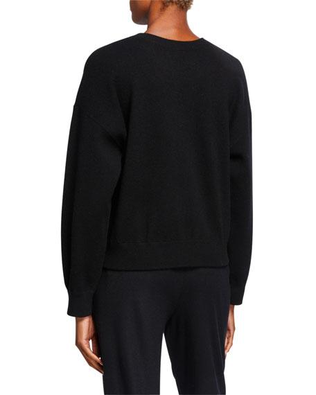Vince Crewneck Double Layer Sweatshirt
