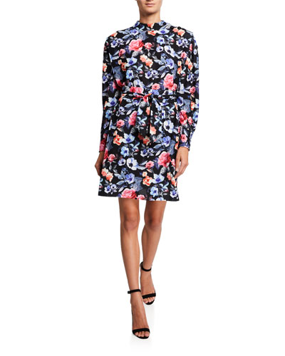Trudy Long-Sleeve Dress