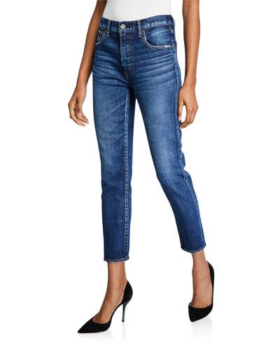 Cameron Dark-Wash Skinny Jeans