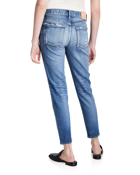 MOUSSY VINTAGE Lancaster Distressed Skinny Jeans