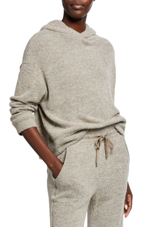 Vince Textured Hoodie Sweater