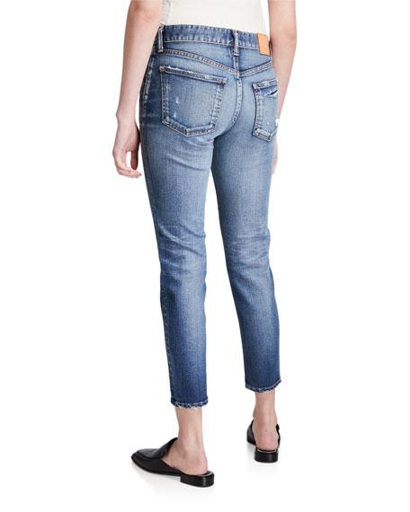 MOUSSY VINTAGE Sundance Dark-Wash Skinny Jeans